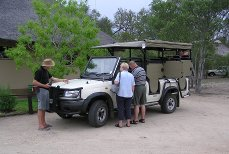 Kruger National Park safari vehicle