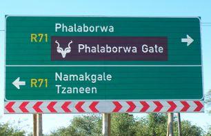 Phalaborwa signpost