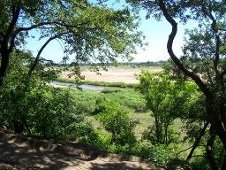 Letaba River from Letaba Rest Camp