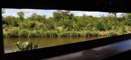 Shipandani Overnight Hide overlooking Tsendze River