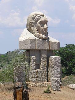 Paul Kruger Gate statue