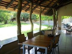 Orpen Rest Camp cottage verandah