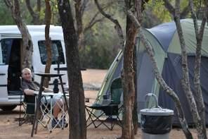 Kruger National Park camping safari