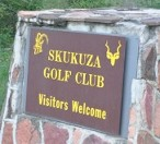 Kruger National Park golf course, Skukuza Golf Club sign