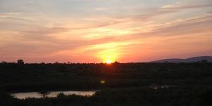 Sunset, Kruger National Park