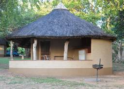 Skukuza Rest Camp bungalow
