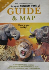 Kruger National Park Guide and Map book
