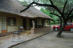 Kruger National Park rest camp cottage