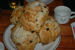 Kruger Park self-catering scones