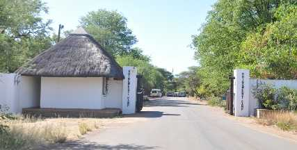 Shingwedzi Rest Camp gate