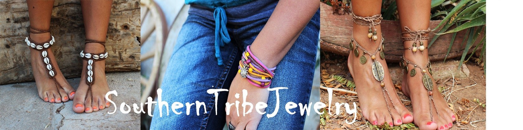 Southern Tribe Jewelry shop banner